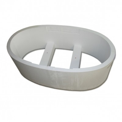 Koralle Wannen T200 180/85/47 cm (Plana) Oval