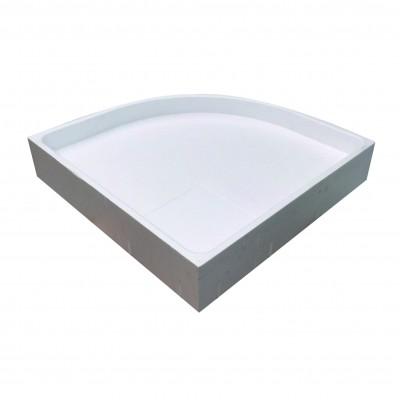 Duschträger für Malaga 773 660.773203 100x80x5 cm V-Kreis rechts