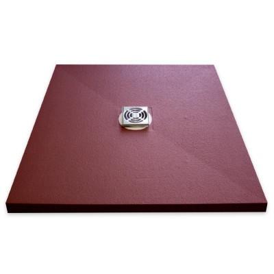 Duschelement 90x75x3,7 cm