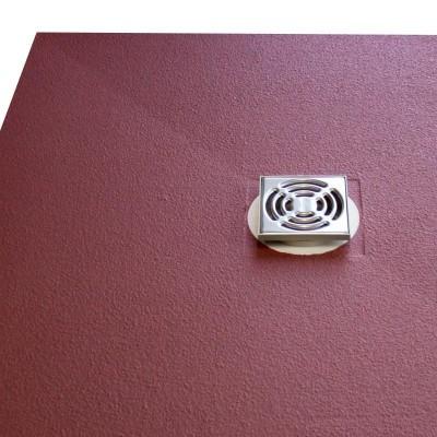 Duschelement 90x80x3,7 cm