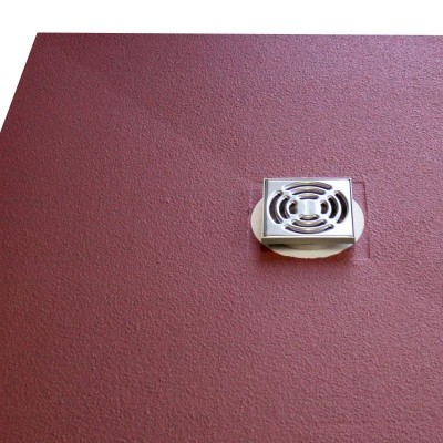 Duschelement 100/90/3,8 cm